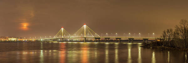 Wall Art - Photograph - Clark Bridge Across Mississipi River by Panoramic Images