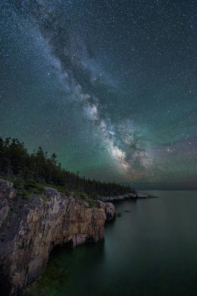Wall Art - Photograph - Cliff Point by Michael Blanchette