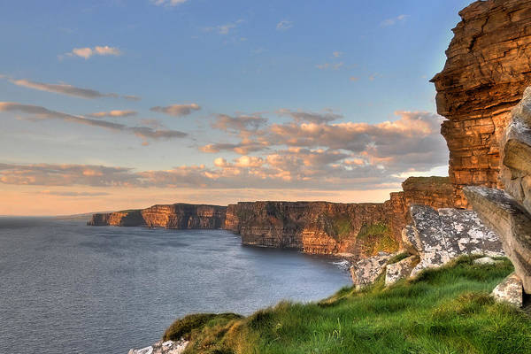The Burren Photograph - Cliffs Of Moher by Photography By Robert Riddell