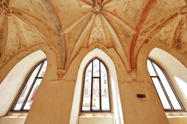 Wall Art - Photograph - Cloister Dalheim Monastery Lichtenau North Rhine-westphalia Germany by imageBROKER - Stefan Ziese