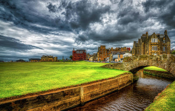 Wall Art - Photograph - Cloudy Day - St. Andrews Links by Pixabay