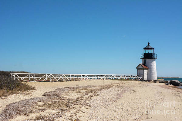 Photograph - Coastal Brant Light House by Ruth H Curtis