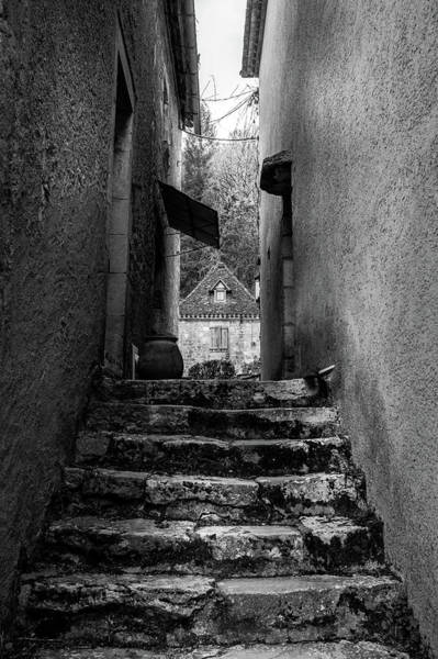 Photograph - Cobbled Streets Of Saint Cirq Lapopie by Georgia Fowler