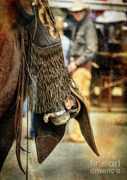 Photograph - Cody Spur And Cowboy II by Craig J Satterlee