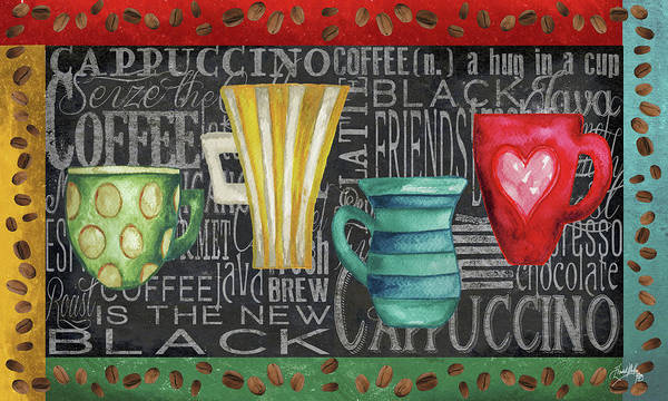 Wall Art - Painting - Coffee Of The Day by Elizabeth Medley