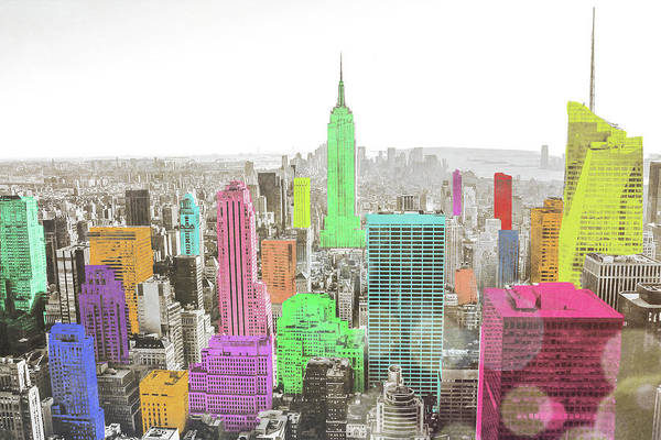Wall Art - Painting - Color In The Cities by Bill Carson Photography