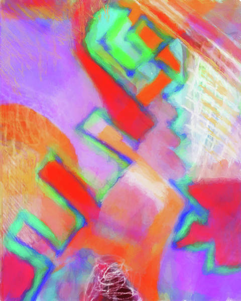 Wall Art - Digital Art - Color Play by Susan Stone