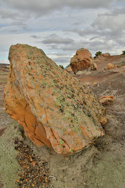 Photograph - Colorful Boulders In Bentonite Site by Ray Mathis