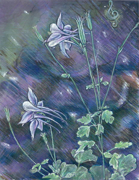 Painting - Columbine Song by Jeremy Robinson