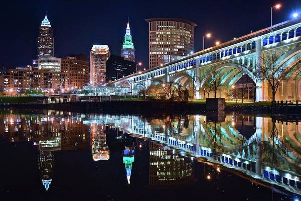 Wall Art - Photograph - Come Visit Cleveland by Frozen in Time Fine Art Photography
