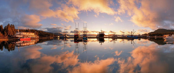 Wall Art - Photograph - Commercial Fishing Boats In Auke Bay by John Hyde