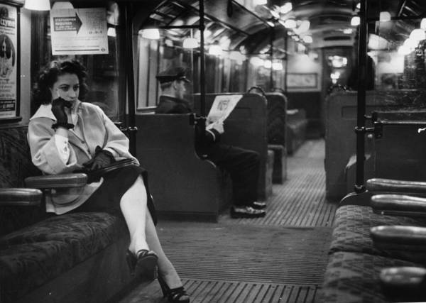 Dancing Photograph - Commuter by Bert Hardy