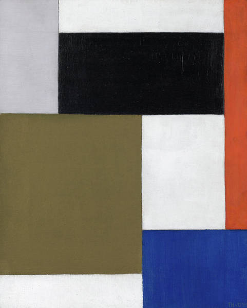 Wall Art - Painting - Composition, 1924 by Theo van Doesburg