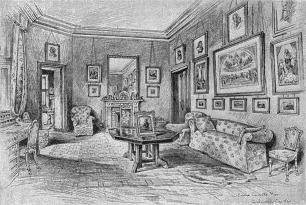 Armchair Photograph - Consorts Sitting Room by Hulton Archive