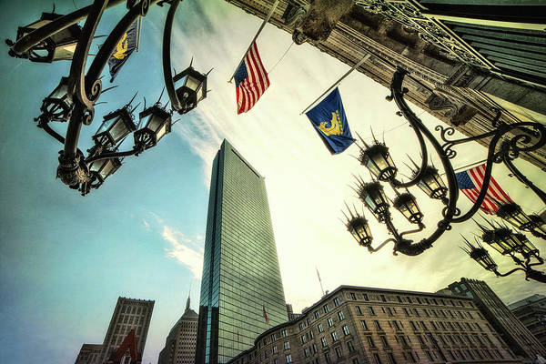 Photograph - Copley Square - Boston Architecture by Joann Vitali