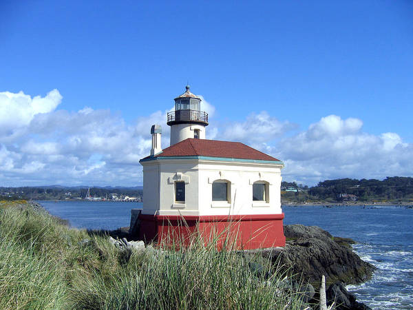 Photograph - Coquille Lighthouse by Will Borden