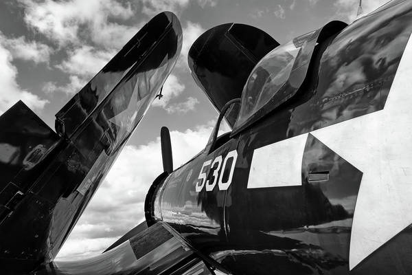 Photograph - Corsair With Folded Wings by Chris Buff