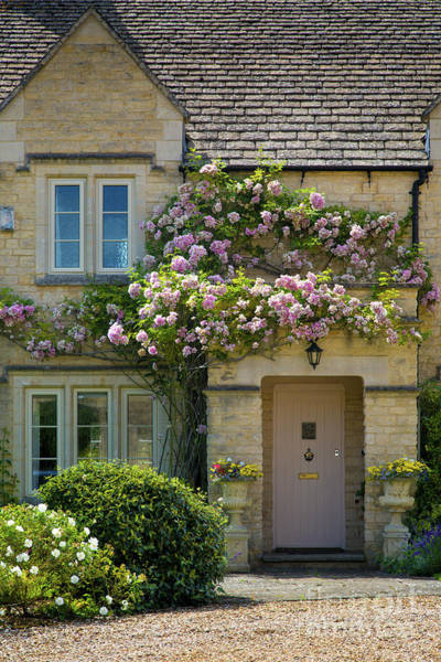 Photograph - Cotswolds Cottage by Brian Jannsen