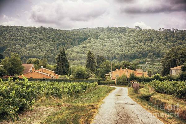Photograph - Countryside Near La Castelet by Ariadna De Raadt