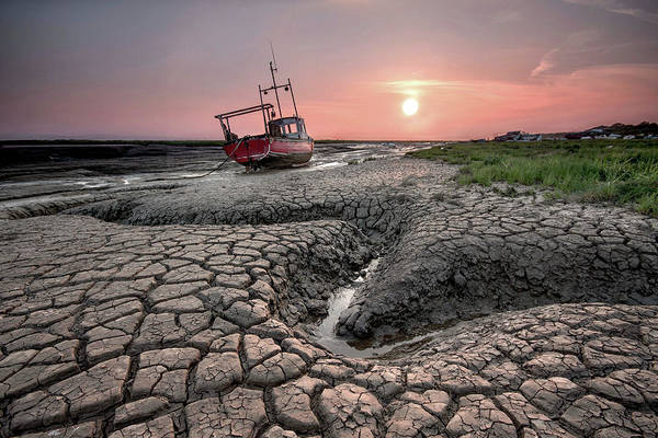 Cracked Photograph - Cracked Mud by Paul Bullen