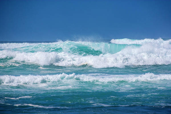 Photograph - Crashing Waves by Anthony Jones