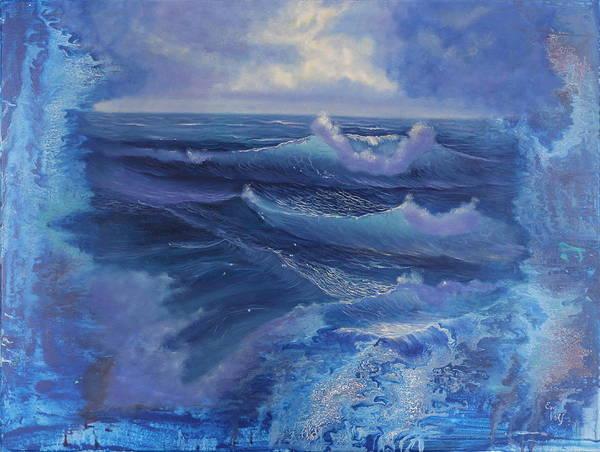 Painting - Creation by Eva Volf