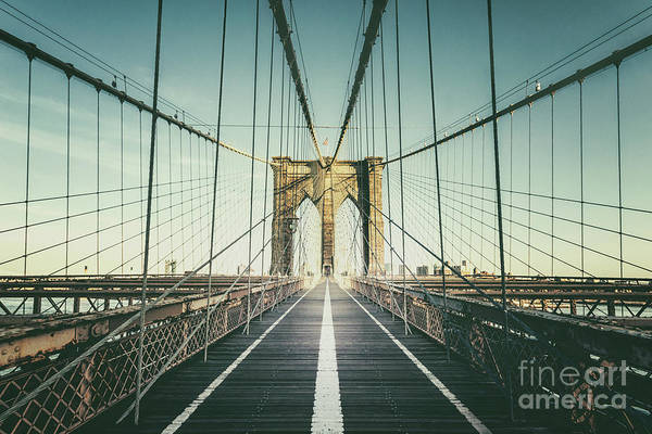 Wall Art - Photograph - Cross The Bridge by Evelina Kremsdorf