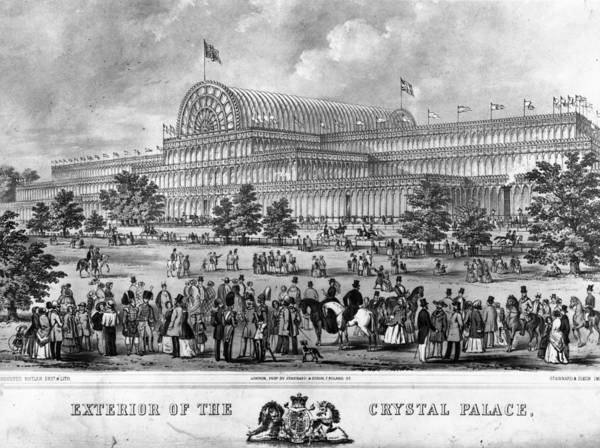 Exhibition Digital Art - Crystal Palace by Hulton Archive