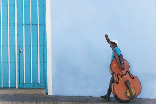 Real People Photograph - Cuba. Santiago De Cuba. Calle Heredia by Buena Vista Images