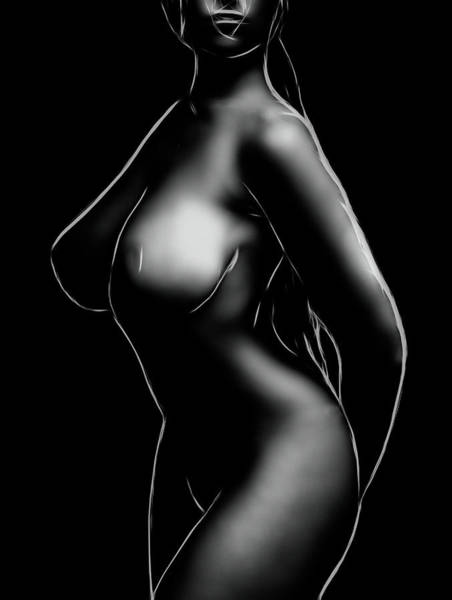 Wall Art - Digital Art - Curves And More by Steve K