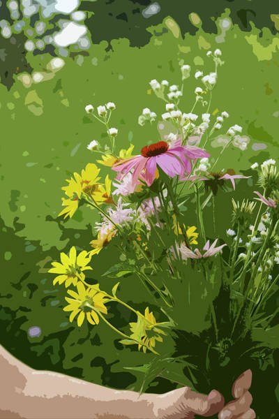 Digital Art - Cut Flowers by Garden Gate magazine
