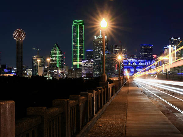 Photograph - Dallas Skyline 071419 by Rospotte Photography