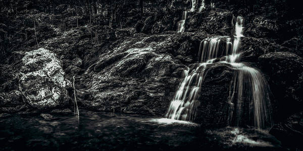 Photograph - Dark Hollow Falls by Pete Federico