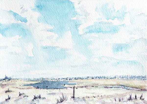 Gulf Shores Alabama Painting - Dauphin Island, Al by Brent Rowley
