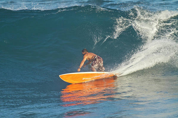 Wall Art - Photograph - Dave Kalama A Famous Surfer Surfing by Panoramic Images
