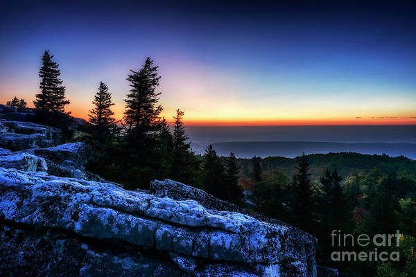 Photograph - Dawn At Bear Rocks Preserve by Thomas R Fletcher