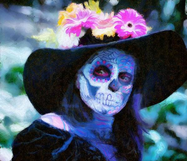 Sketch Holiday Photograph - Day Of The Dead Festival by Robert Kinser