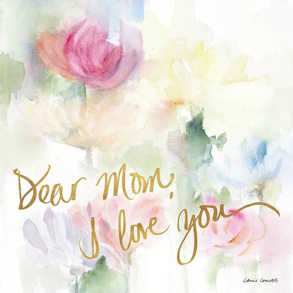Wall Art - Mixed Media - Dear Mom by Lanie Loreth