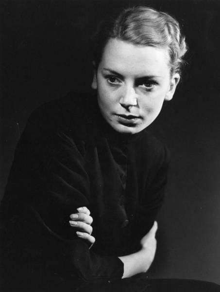 Photograph - Deborah Kerr by Baron