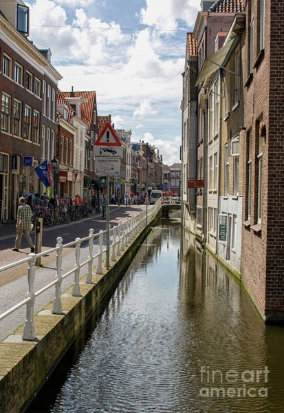 Wall Art - Photograph - Delft City Centre by Patricia Hofmeester