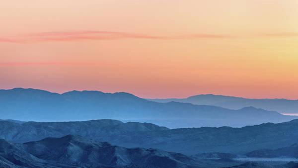 Laguna Mountains Photograph - Desert Sunrise by Joseph Smith
