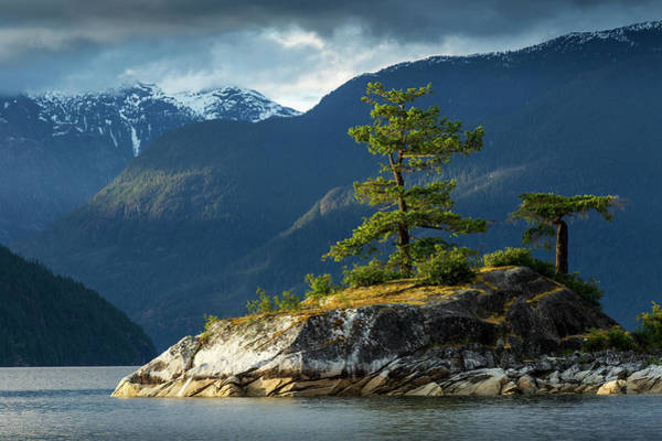 Mountain Range Photograph - Desolation Sound, Bc, Canada by Paul Souders
