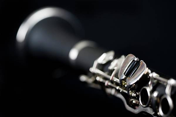 Wall Art - Photograph - Detail Of A Clarinet by Junior Gonzalez