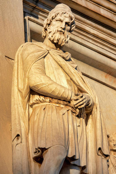 Photograph - Detail Of The Arch Of Constantine by Fabrizio Troiani