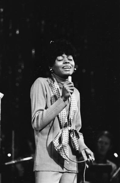 Pop Music Photograph - Diana Ross by Larry Ellis