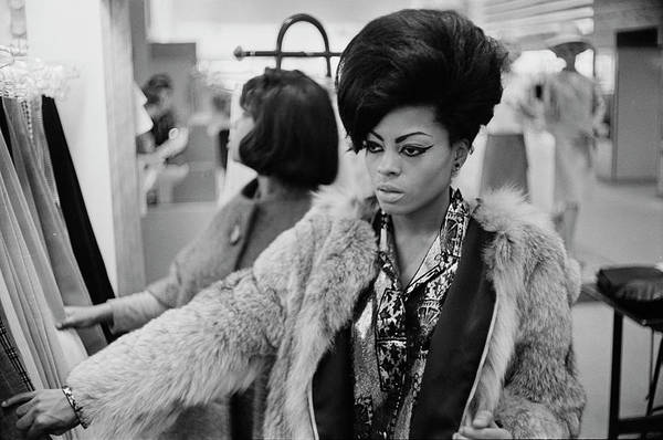 Clothing Store Photograph - Diana Ross by Michael Ochs Archives