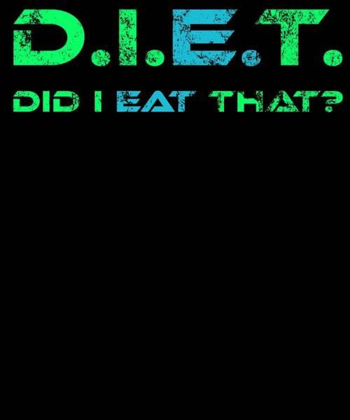 Thanksgiving Dinner Digital Art - Diet Did I Eat That by Kaylin Watchorn