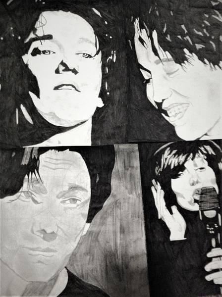 Wall Art - Drawing - Dimash Kudaibergen by Jenna Munkres