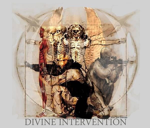 Digital Art - Divine Intervention by Todd Krasovetz