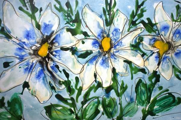 Wall Art - Painting - Divineblooms22213 by Baljit Chadha